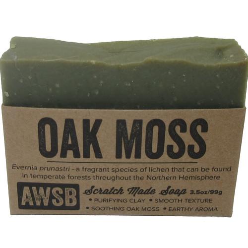 A Wild Soap Bar Oak Moss Bar Soap