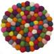 Wool Trivet Felt Balls