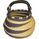 African Bolga Basket Gambibgo Pot #3 alt