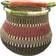 African Bolga Basket Gambibgo Pot #8