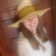 """African Straw Hat with Chin Strap #50-Fits 21 1/2-22 1/2"""" Head 2"""
