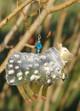 Handmade Metal Ornament Woolly Sheep alt