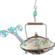 Handmade Metal Ornament Steaming Teapot