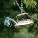 Handmade Metal Ornament Steaming Teapot alt