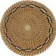 Pine Needle and Raffia Basket Bernarda alt