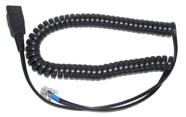 Headset standard disconnect quick disconnect to modular clip