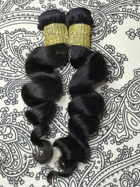 Piña Colada Curls Indian Loose Wavy Virgin Hair
