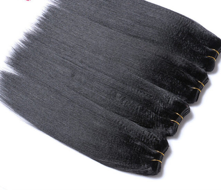 Yaki Straight No Chaser Virgin Hair Bundles