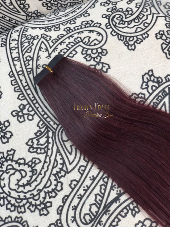 Luxury Tape-In Hair Extension #99J Halle Berry