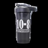 Shaker Bottle, smoked- black/grey