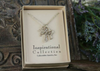 IN-405 Three Crosses Necklace