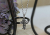 IN-431 Simple Cross Necklace