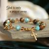 IN-733  God is only a Prayer Away bracelet