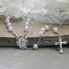 CJ-381  Traditional Keepsake Rosary