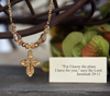 IN-314N Jeremiah 29:11 necklace