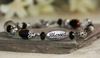 IN-337 Blessed silver tone bracelet