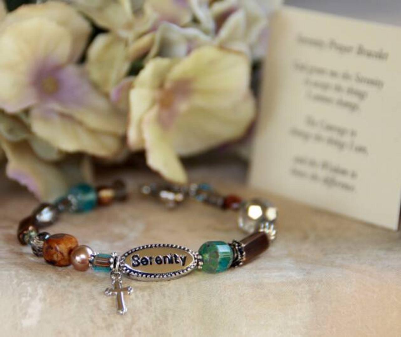 IN-351 Serenity Prayer Bracelet