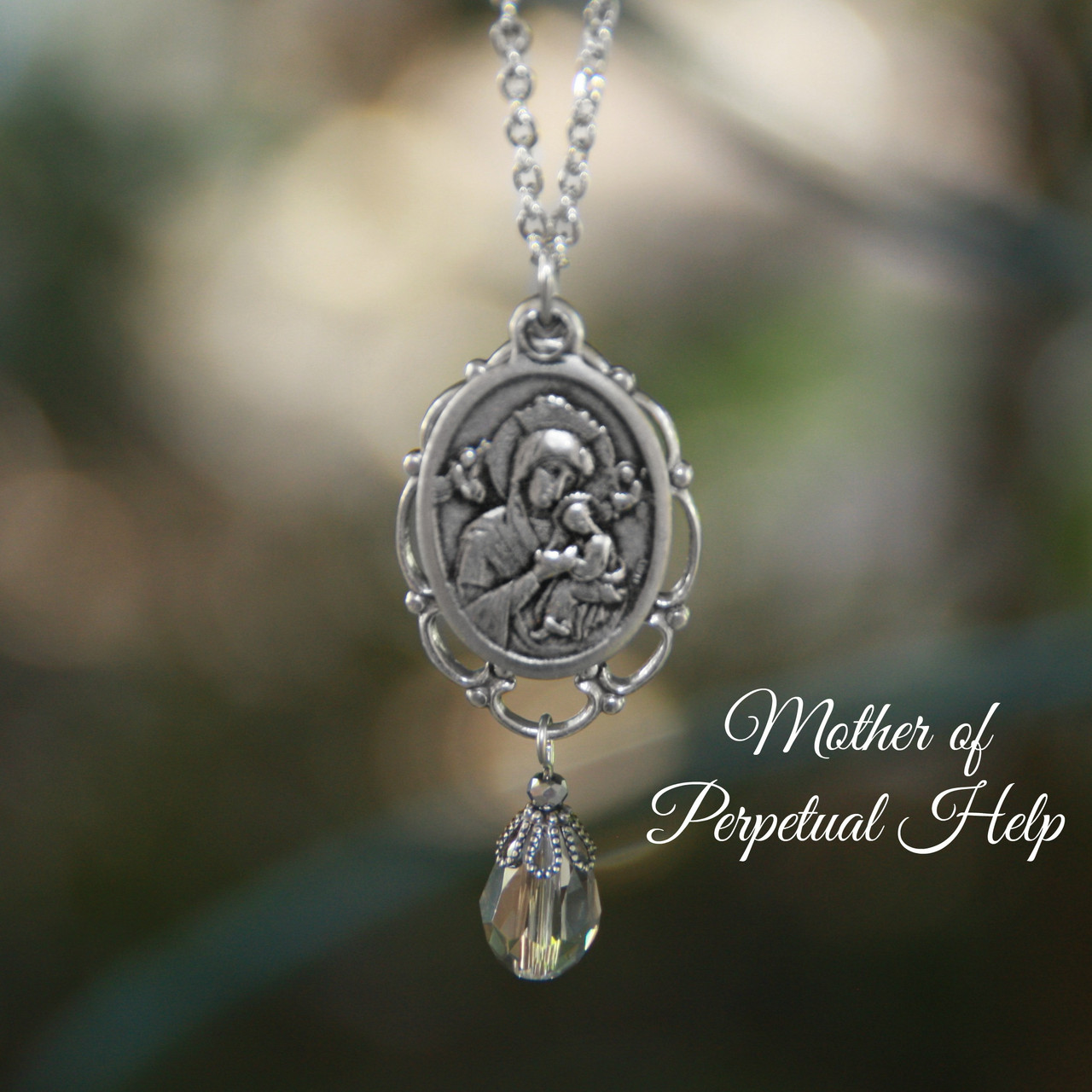 IN-625  Mother of Perpetual Help Necklace