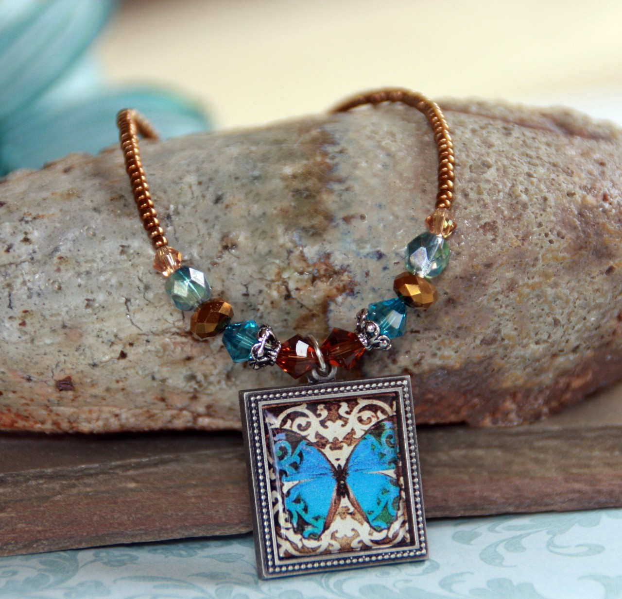 ART-202 Butterfly Necklace