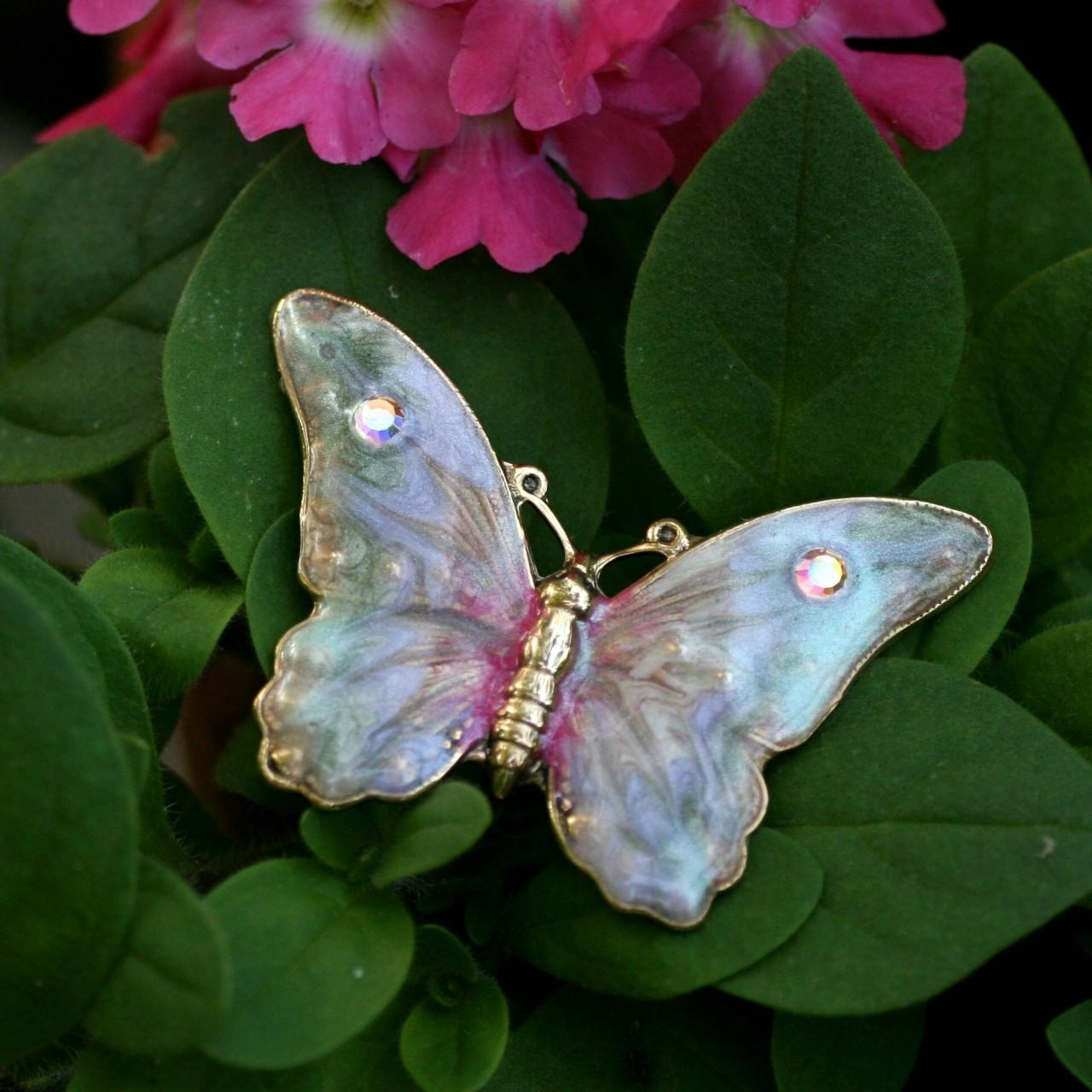 EN-16  Butterfly Pin