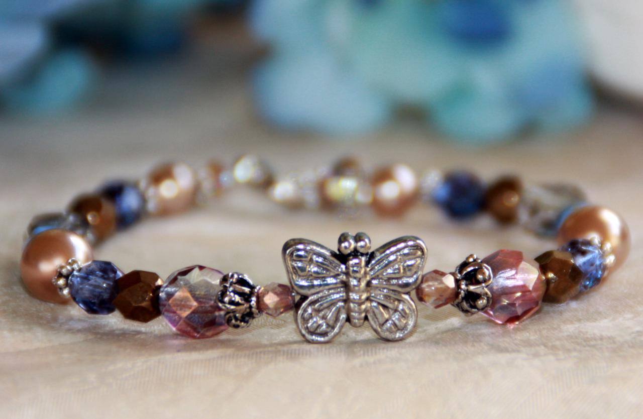 IN-231 Butterfly bracelet