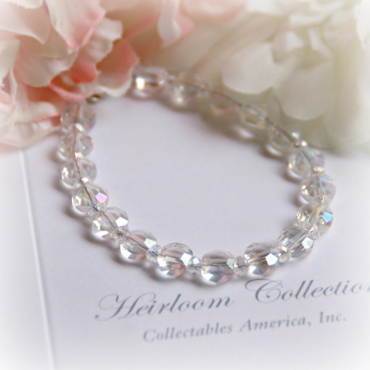 """CJ-372-5 Crystal 5"""" Bracelet without a Charm"""