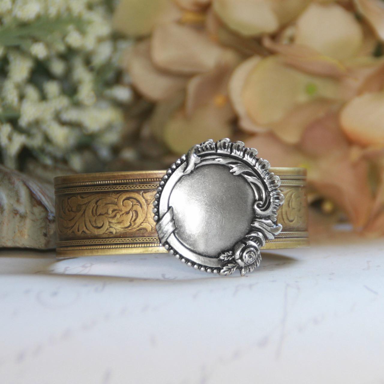 ART-147  Engraveable Cuff Bracelet