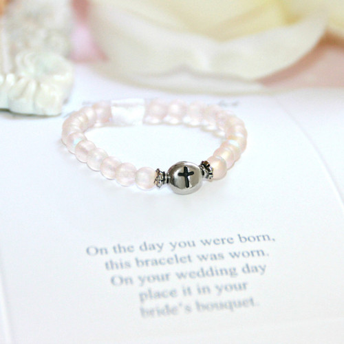 CJ-531 First Bracelet/Bride Keepsake Infant First Bracelet-Top Seller