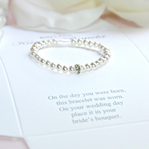CJ-534 First Bracelet/Bride Keepsake Infant First Bracelet-Top Seller