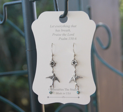 FER-408  Let everything that has Breath Praise the Lord Earrings