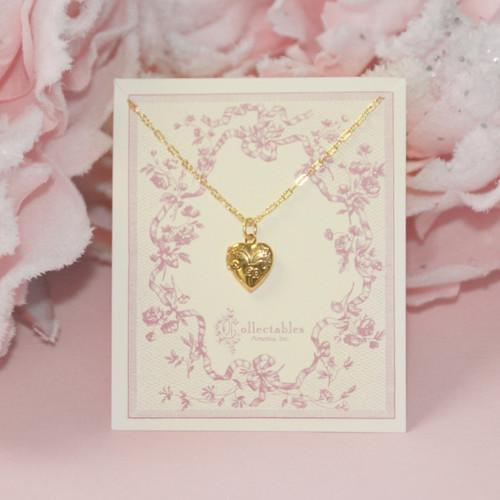 CJ-301  Top selling Heart Locket Necklace