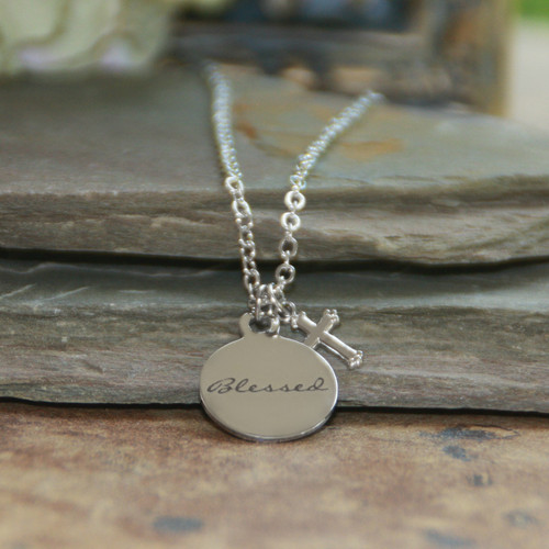 IN-624  Blessed Charm Necklace