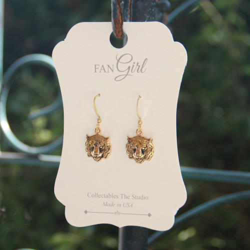 TG-15  Tiger Earrings for Everyday!