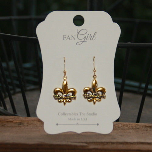 NOST-14  Who Dat Earrings