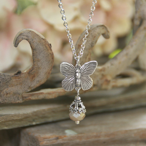 IS-7  Timeless Butterfly Necklace