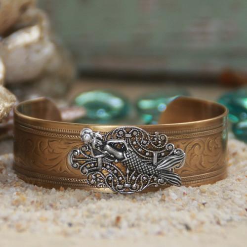 OC-28  Mermaid Cuff Exquisite Bracelet