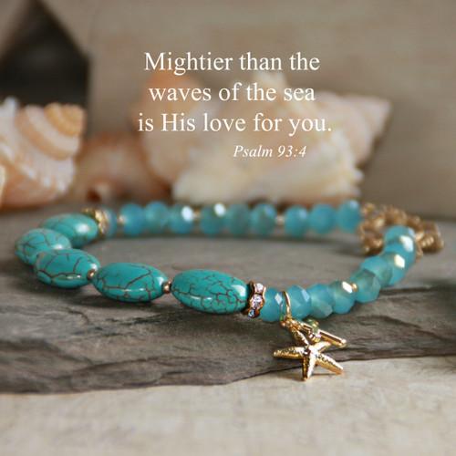 IN-208B  Scripture Psalm 93:4