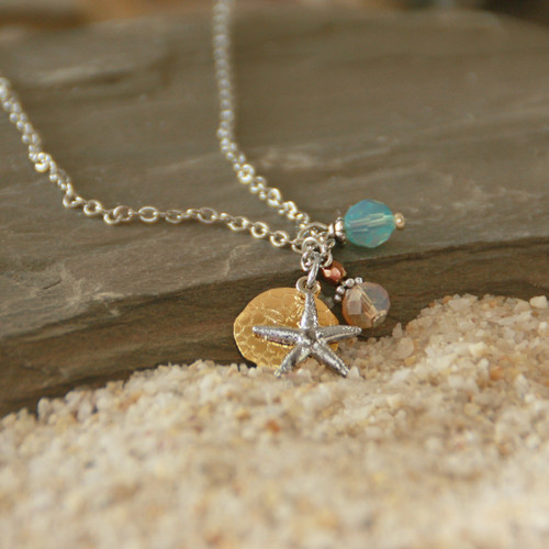 OC-11  Oodles of Beachy Charms Necklace