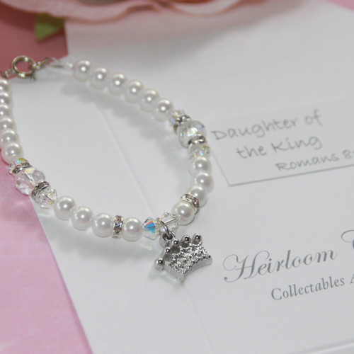 "CJ-571-6  Daughter of the King 6"" Bracelet"