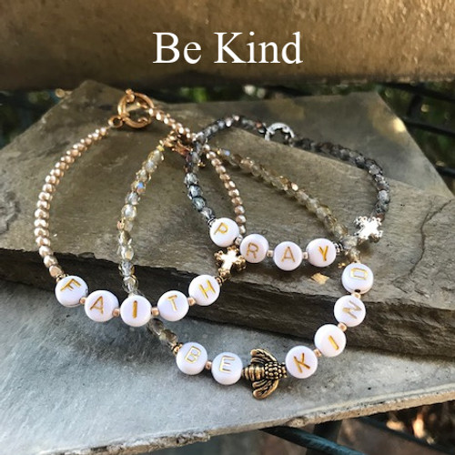 "IN-756 ""Be Kind"" Beaded Trending 2021 Bracelet"