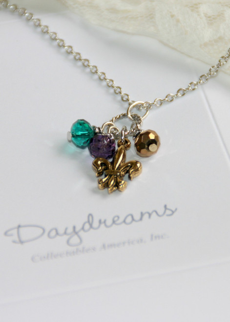 DD-17 Daydreams Collection Mardi Gras & Fleur de Lis