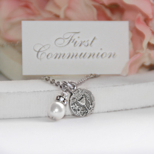 CJ-471  First Communion Necklace