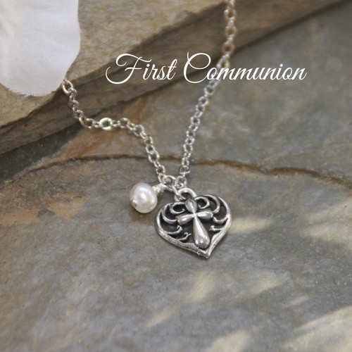 RH-70  Sweet First Communion Necklace