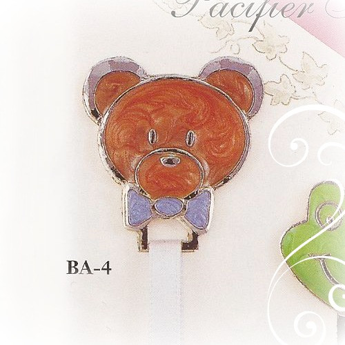 BA-4 Teddy Bear Paci Holder