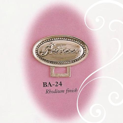 BA-24 Oval Princess Paci Holder