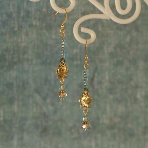 OC-37  Fishy Earrings