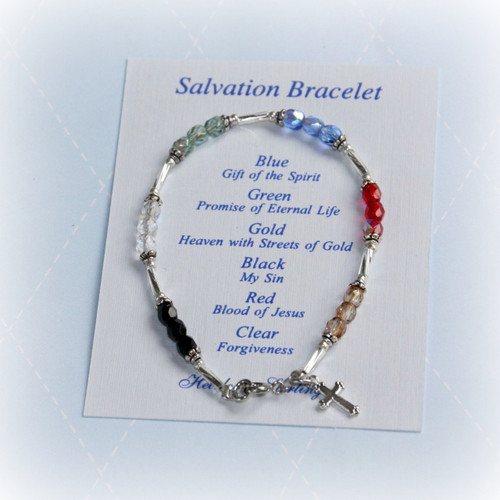 STG-84  Child Salvation Bracelet 6""