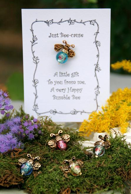 PIN-12  Just Because Bumble Bee Lapel Pin A Top Seller!