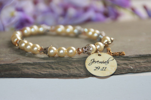 IN-110 Jeremiah 29:11 Bracelet Perfect for the Graduate