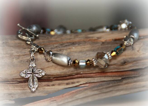 IN-345 Delight yourself in the Lord bracelet